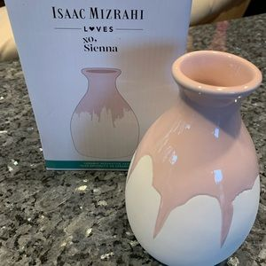 Isaac Mizrahi Vase - New in Box